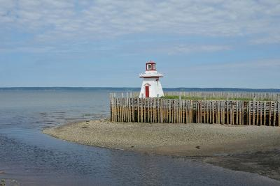 Belliveau Cove Lighthouse-pmstephens-Photographic Print