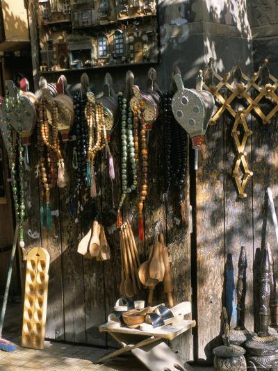 Bellows and Coffee Grinders for Sale at Souq Al-Hamidiyya, Damascus, Syria-Alison Wright-Photographic Print