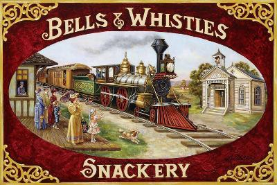 Bells and Whistles Train-Lee Dubin-Giclee Print