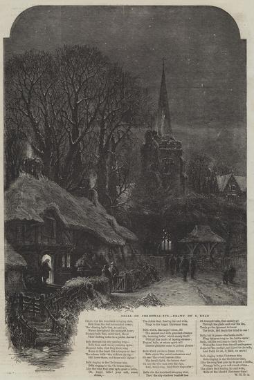 Bells on Christmas-Eve-Samuel Read-Giclee Print