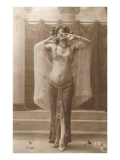 Belly Dancer--Art Print