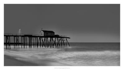 Belmar Pier-James McLoughlin-Art Print