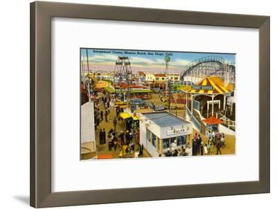 Belmont Amusement Park, Mission Beach, San Diego, California
