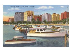 Belmont Yacht Harbor, Chicago, Illinois