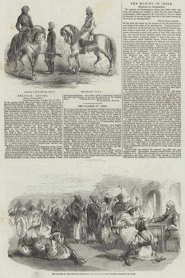 Belooch Levies--Giclee Print