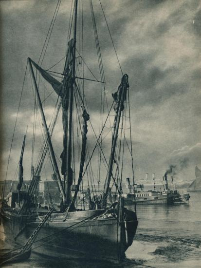 'Below the Bridges', 1936-Unknown-Giclee Print