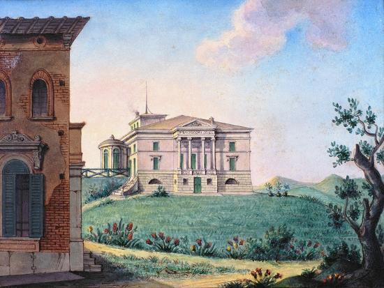 Belpoggio, Villa Baciocchi, Bologna--Giclee Print