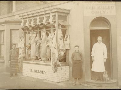 Belsey's Butchers/Photo--Photographic Print