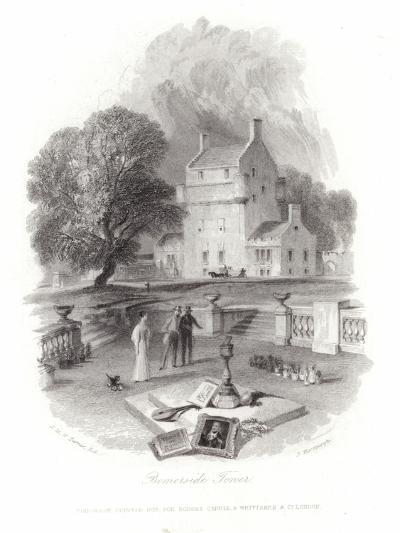 Bemersyde Tower-J^ M^ W^ Turner-Giclee Print
