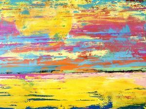 BEACH SCENE, 2019 by Ben Bonart