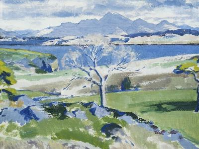 Ben Cruachan from Achnacraig, Mull-Francis Campbell Cadell-Giclee Print