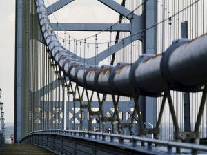 Ben Franklin Bridge, Philadelphia, Pennsylvania, USA