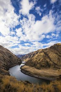 The Snake River Winds Through the Scenic Hells Canyon on the Idaho-Oregon Border by Ben Herndon