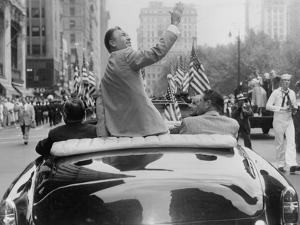 Ben Hogan Honored in a Ticker-Tape Parade in New York City