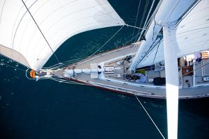 A Sailboat from the Tip of the Mast by Ben Horton