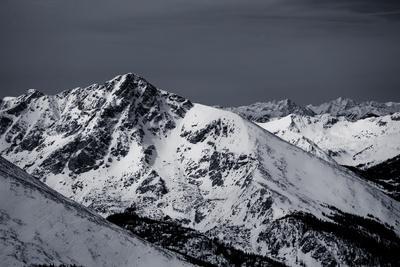 Holy Cross Mountain in Winter