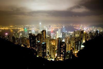 Hong Kong, China: Hong Kong Skyscrapers from High Above by Ben Horton