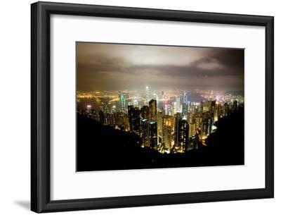 Hong Kong, China: Hong Kong Skyscrapers from High Above