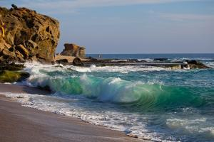 Laguna Beach Shore Break and Waves by Ben Horton
