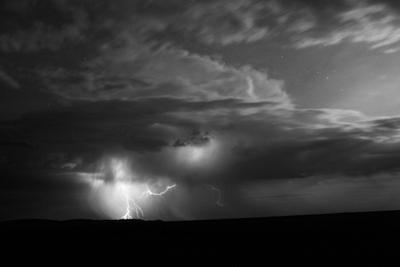 Mongolia: A Lightning Storm Builds on the Mongolian Steppe by Ben Horton