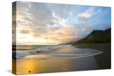Osa Peninsula, Costa Rica: the Tide Rises at Sunset on a Remote Beach in Costa Rica