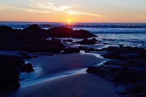 Sunset on the Baja Peninsula by Ben Horton