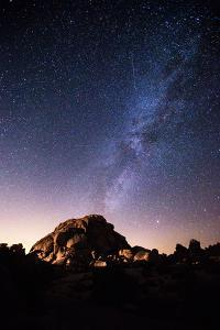 The Milky Way Above a Granite Dome in Joshua Tree National Park by Ben Horton