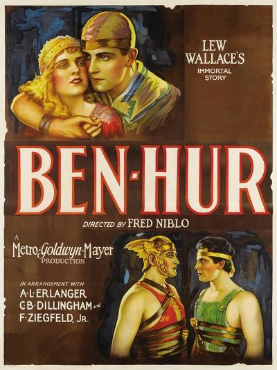 """Ben-hur, 1925, """"Ben-hur: a Tale of the Christ"""" Directed by Fred Niblo--Giclee Print"""