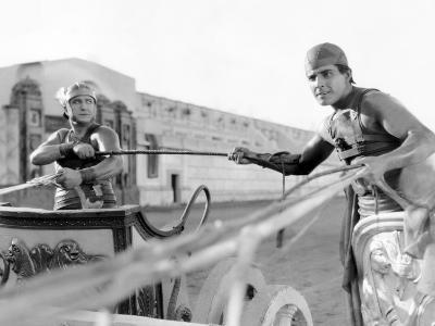 Ben-Hur, Francis X. Bushman, Ramon Novarro, 1925--Photo