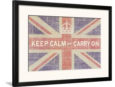 Keep Calm and Carry On (Union Jack)