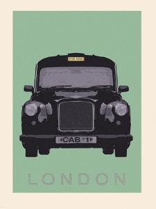 London - Cab I by Ben James