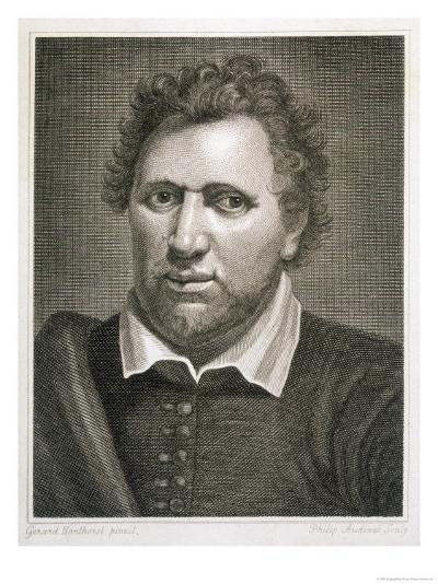 Ben Jonson Writer-Philip Audinet-Giclee Print