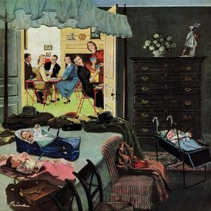 """Baby Bridge Party"", November 24, 1956 by Ben Kimberly Prins"