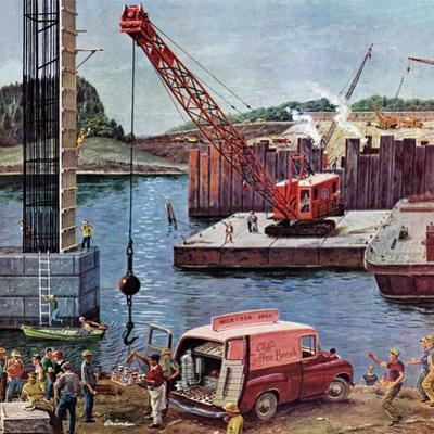 """Bridge Construction"", March 9, 1957"
