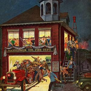 """Fireman's Ball"", April 3, 1954 by Ben Kimberly Prins"