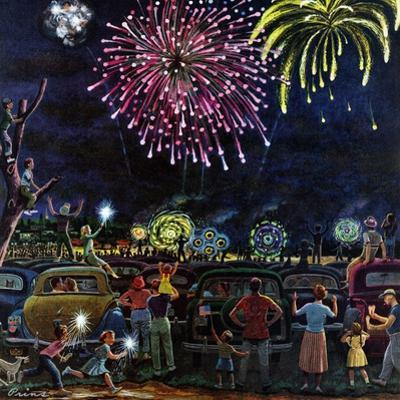 """Fireworks"", July 4, 1953"