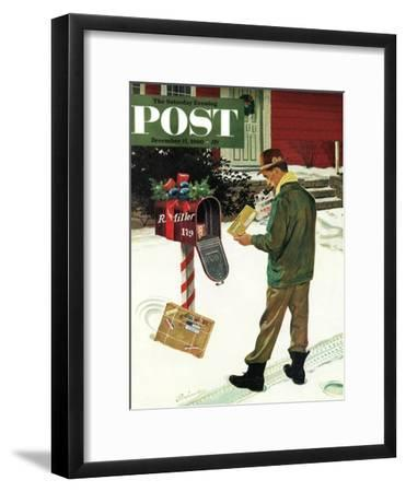 """Merry Christmas from the IRS,"" Saturday Evening Post Cover, December 17, 1960"