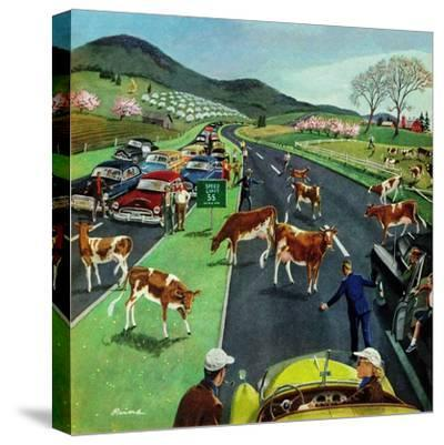 """Slow Mooving Traffic"", April 11, 1953"