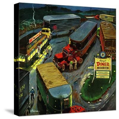 """""""Truck Stop Diner"""", October 10, 1953"""