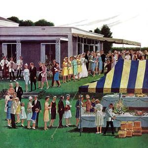 """Wedding Reception,"" June 9, 1962 by Ben Kimberly Prins"