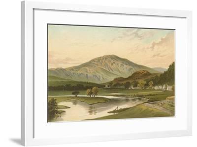 Ben Ledi from Callander Bridge-English School-Framed Giclee Print