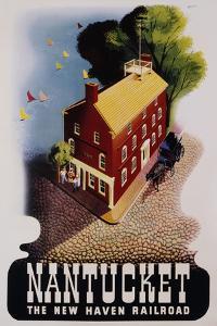 Nantucket Poster by Ben Nason