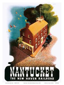 Nantucket - The New Haven Railroad by Ben Nason
