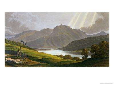 """Ben Nevis, Plate XII from """"Scenery of the Grampian Mountains,"""" Exhibited 1811, Published 1819-George Fennel Robson-Giclee Print"""