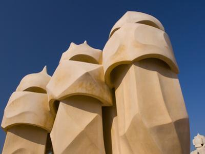 Casa Mila, UNESCO World Heritage Site, Barcelona, Catalonia, Spain, Europe by Ben Pipe