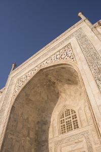 Dawn at the Taj Mahal, UNESCO World Heritage Site, Agra, Uttar Pradesh, India, Asia by Ben Pipe