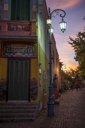 El Caminito at Dusk, La Boca, Buenos Aires, Argentina, South America by Ben Pipe