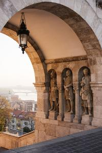 Fisherman's Bastion, Budapest, Hungary, Europe by Ben Pipe