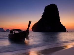 Happy Island, Hat Phra Nang Beach, Railay, Krabi Province, Thailand, Southeast Asia, Asia by Ben Pipe