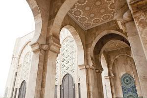 Interior of Hassan Ii Mosque, Casablanca, Morocco, Africa by Ben Pipe